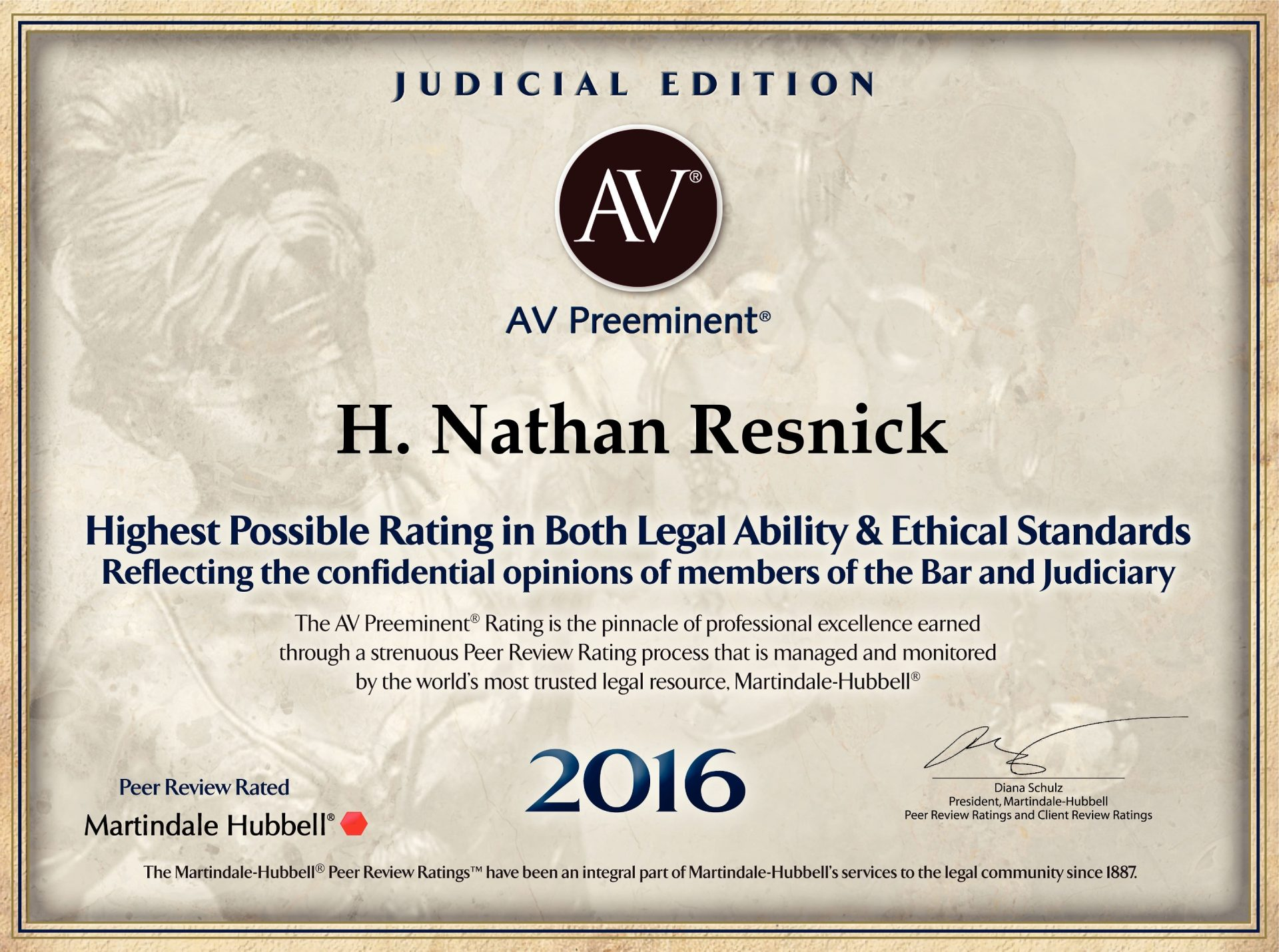 H  Nathan Resnick - Resnick Law, P C