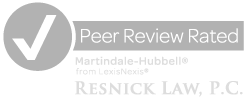 Resnick Law Peer Review Rated